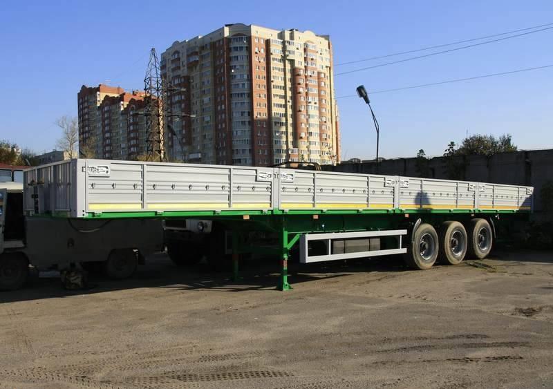 Фото №3:Полуприцеп бортовой МАЗ 975800